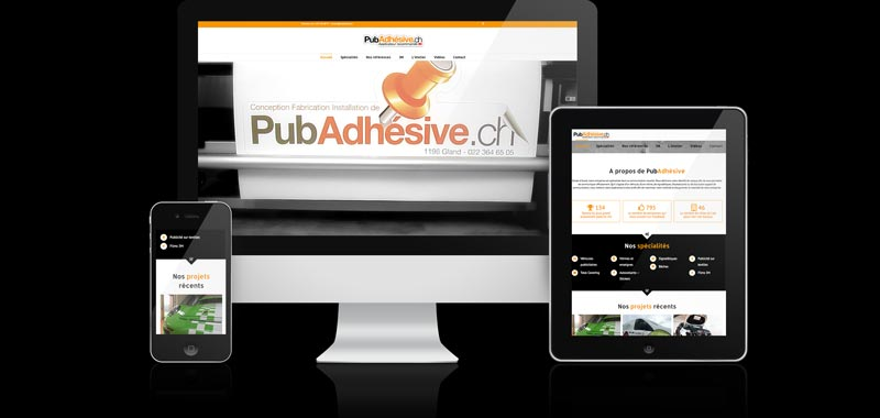 Référence Pub Adhésive